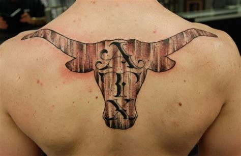 texas longhorn tattoos 100 most tattoos ideas golfian