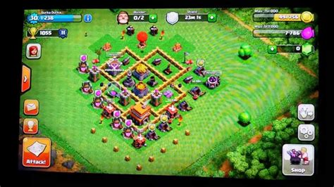 clash of clans strategy town hall level 5 car interior clash of clans town hall level 5 hybrid base with defence