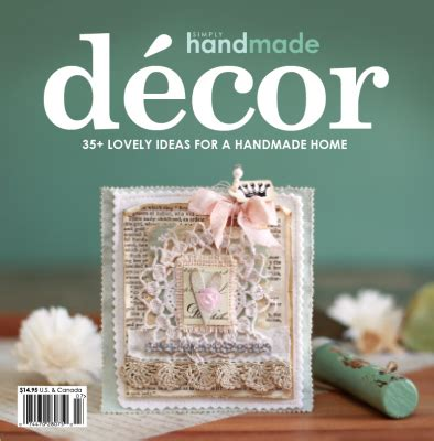 Handmade Decor - snc s crop mmunity new arrivals simply handmade decor