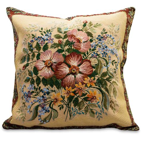 Tapestry Pillows by Roses Decorative Tapestry Throw Pillow Product Sku