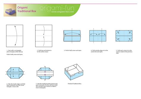 Origami Rectangle Paper - doc