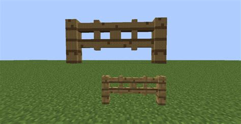 Minecraft Fence Door by Fence And Fence Gate Minecraft Project