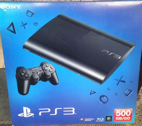 Sony Ps3 Slim 500gb sony ps3 slim 500gb zonasegundamano