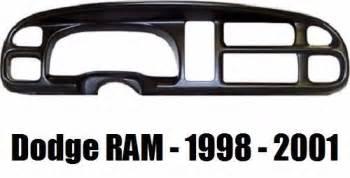 dodge ram dash instrument bezel cover overlay 1998