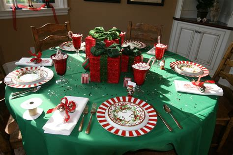 terrific christmas table decorations decorating ideas