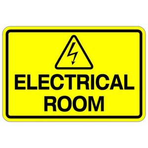 room signs for electrical room 12 x 18 safety sign bc site service