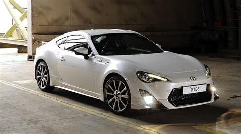 toyota gt86 toyota 86 trd limited edition model set for uk release
