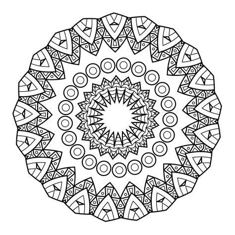 mandala coloring book wiki 5 free printable coloring pages mandala templates free