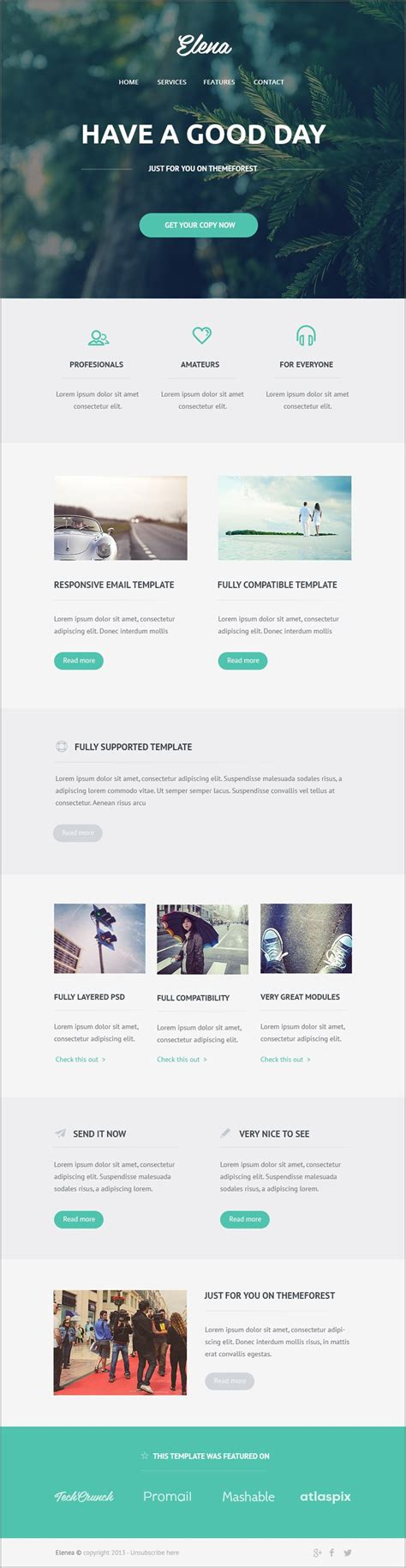 Psd To Email Template free email newsletter templates psd 187 css author