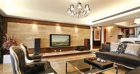 wood panel walls decorating ideas wood paneling entertainment wall lounge interior design