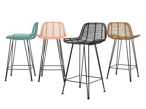 Rattan Barstool 3d model   HK living