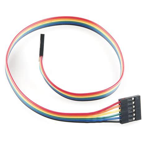 2pin Jumper 01 254mm jumper wire 0 1 quot 6 pin 12 quot