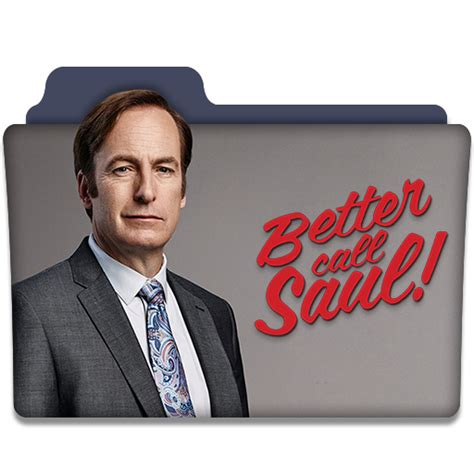 Tv Series Better Call Saul better call saul tv series folder icon v5 by dyiddo on