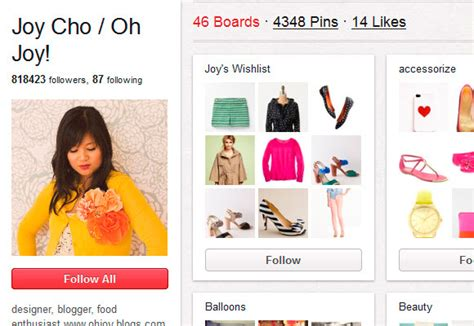 joy cho how to get started with pinterest