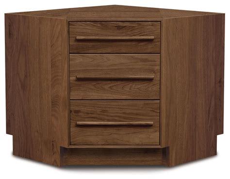 copeland furniture moduluxe 29 quot corner dresser with 3