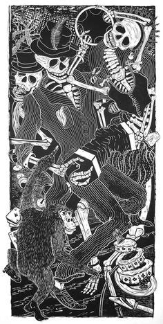 The Dance of Death by Kreg Yingst From the collection of