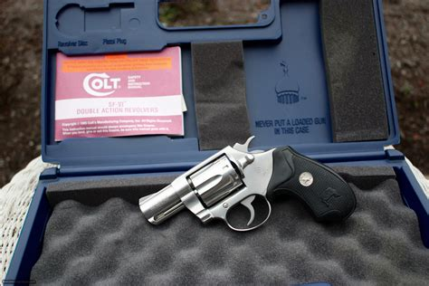 38 F Stainless Darat Dalam 38 Inch colt sf vi 38 special sf1020 stainless 2 inch like new in original colt box
