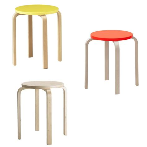 ikea stools ikea stool frosta birch tree stackable in three colours