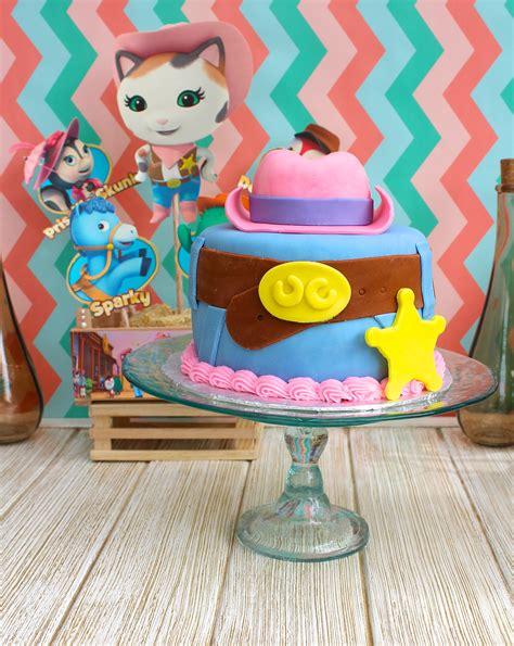 Sheriff Callie Decorations by Sheriff Dyanni S 4th Birthday Project Nursery