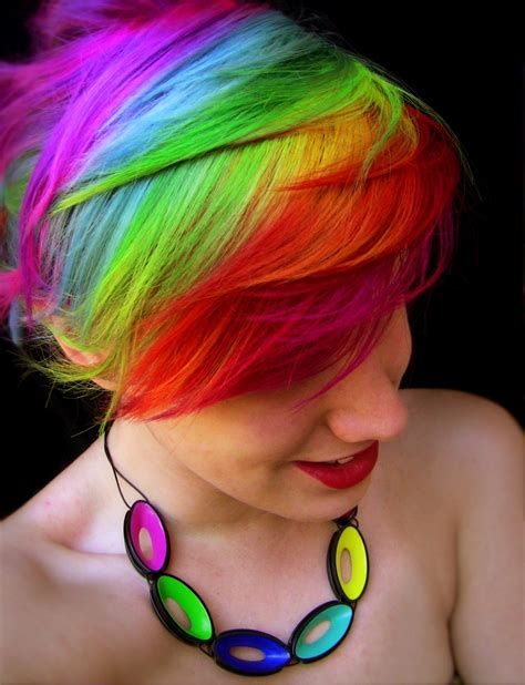 hair rainbow rainbow hair color strayhair
