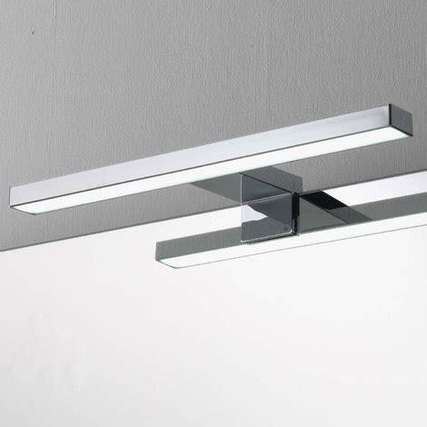 illuminazione led per specchio bagno lada a led per specchio da bagno cm 30 cromata per