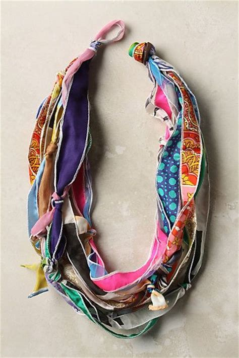 how to make jewelry scarves diy anthropologie inspired scarf necklace