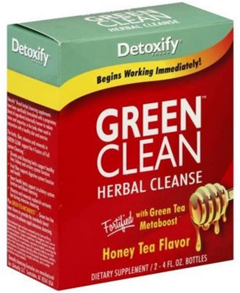 Clean Slate Marijuana Detox Reviews by Green Clean By Detoxify Review Detox Marijuana Fast