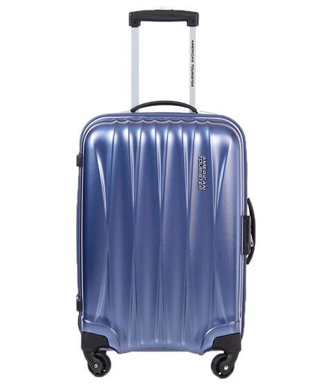 american tourister cabin bag american tourister small below 60 cm 4 wheel blue