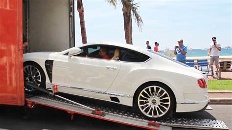 mansory bentley mansory bentley continental gt delivery in cannes youtube