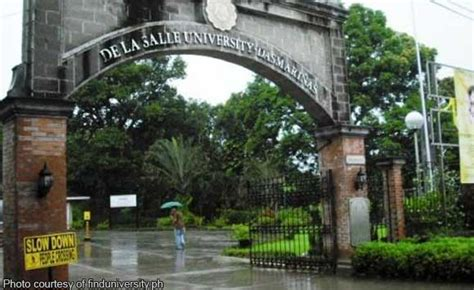 De La Salle Mba Schedule by Bacoor Dlsu D Sign Scholarship Agreement For City S Residents