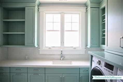 kitchen window trim upstairs laundry room the sunny side up blog