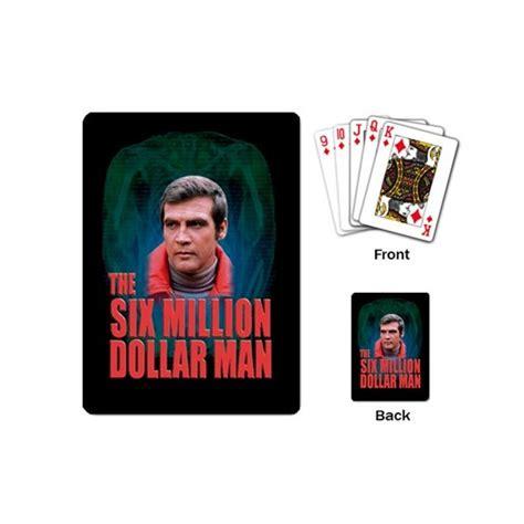 Million Dollar Gift Card - the six million dollar man playing cards stars on stuff