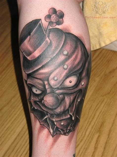 scary tattoos for men scary images designs