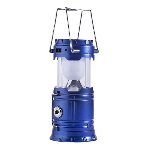 rechargeable led outdoor lights collapsible solar rechargeable led cing lantern light