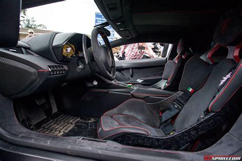 Interior Lamborghini Veneno Monterey 2013 Lamborghini Veneno Gtspirit