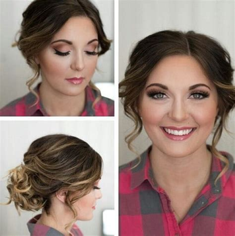 good updo for fat face top 55 flattering hairstyles for round faces updo face