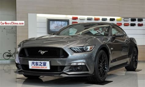 2015 ford mustang dark grey new ford mustang will officially arrive in china in 2015