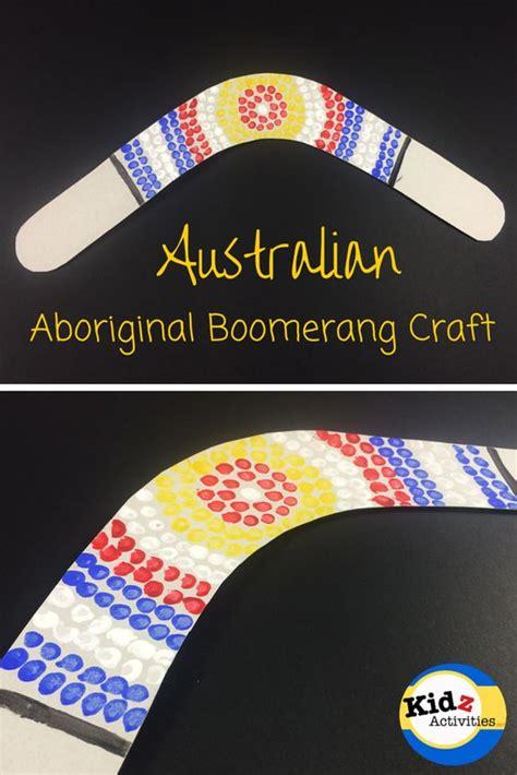 christmas art projects in austrailia australian aboriginal boomerang craft kidz activities kidz activities to