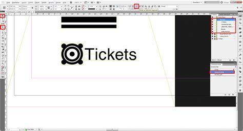 Indesign Vorlage Bearbeiten Indesign Tutorial Eintrittskarten Erstellen 187 Saxoprint