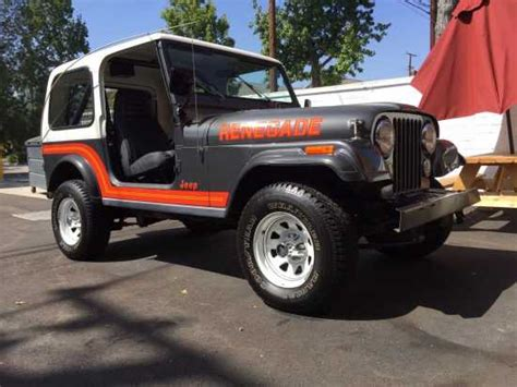 grey jeep renegade grey jeep cj for sale used cars on buysellsearch
