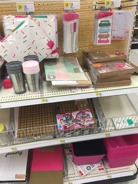 target dollar section the rack s day finds 2016 calendars and more in the target dollar bins the