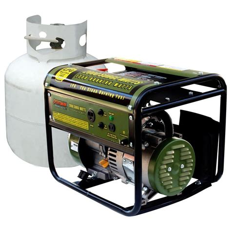 sportsman 2 000 watt clean burning lpg propane gas powered