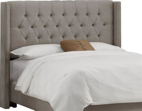 tuffed headboards skyline furniture tufted wingback headboard traditional