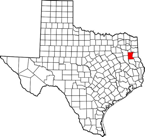 rusk texas map file map of texas highlighting rusk county svg wikimedia commons