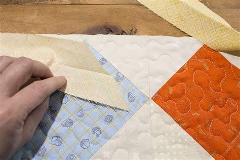 how to bind a quilt using fold binding weallsew