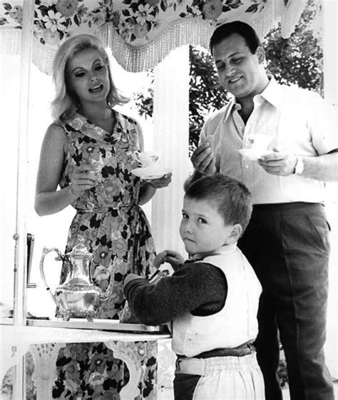 virna lisi y franco pesci virna lisi franco pesci with their son corrado virna