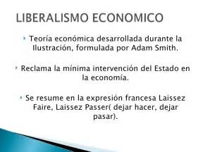 Resume Ideas by Liberalismo Economico