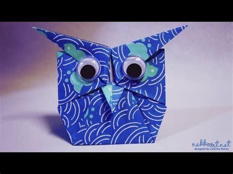 Origami Owl Bookmark - how to fold origami owl by shoko aoyagi