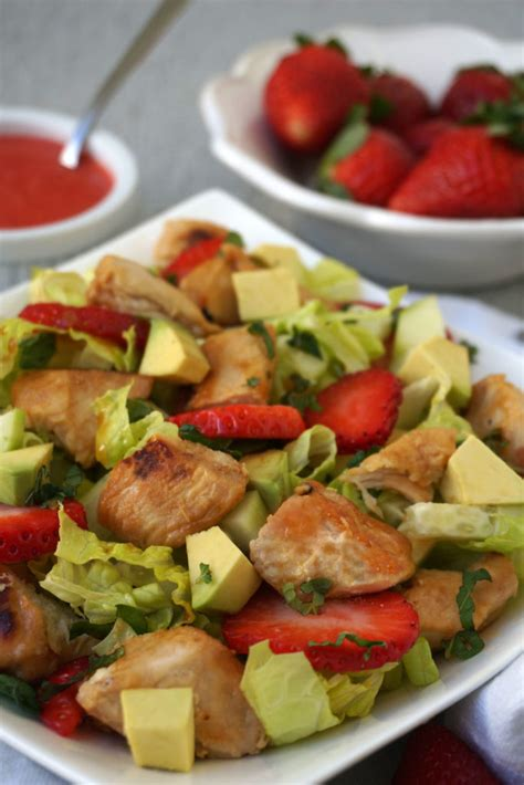 Http Autoimmune Paleo Zesty Detox Salad by Honey Lime Chicken Strawberry Salad Autoimmune Paleo