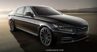 new car for 2014 future cars hyundai s all new 2014 genesis sedan comes